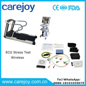 New Wireless ECG Stress Test System Software Kit and Treadmill Trolly Cardiac Stress Exercise- Candice pictures & photos