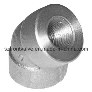 Forged Steel High Pressure Socket Welded 45 Degree Elbow pictures & photos