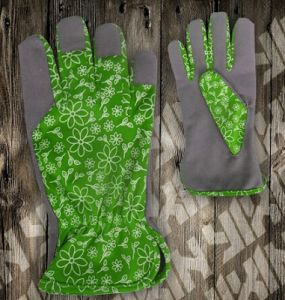 Garden Glove-Fabric Garden Glove-Synthetic Leather Glove-Work Glove-Safety Glove pictures & photos