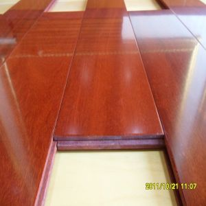 Natural Oil Indoor Brazilian Teak Cumaru Hardwood Flooring pictures & photos