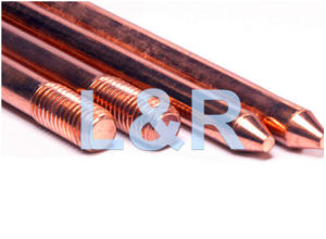 Copper Clad Stainless Steel Copper Weld Steel Ground Rods/Earth Rods pictures & photos