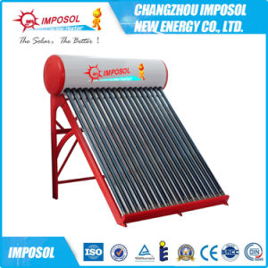 200L Evacuated 20 Tubes Stainless Steel Solar Hot Water Heater pictures & photos