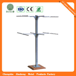 Stainless Steel Supermarket Display Clothes Stand pictures & photos