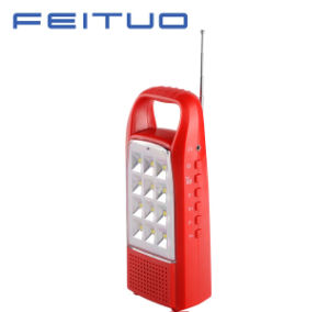 LED Portable Lamp, Rechargeable Lantern, Hand Light, FM Radio Light 620s pictures & photos