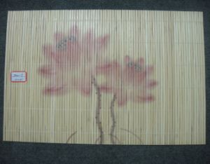 (BC-M1035) Handmade Natural Bamboo Rectangle Heat Insulation Placemat pictures & photos