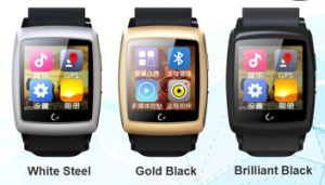 Bluetooth Smart Watch Mobile Phone with WiFi / GPS Tracker