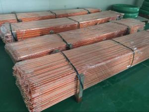 Factory Price Copper Bonded Grounding Material Earth Bar Thickness 0.254mm pictures & photos