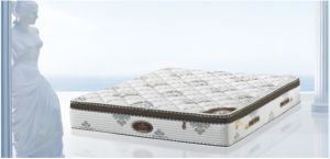 Comfort Bedroom Furniture Euro-Top Pocket Spring Mattress pictures & photos