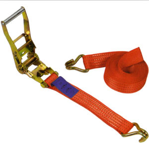 "1"" Tie-Down Strap Ratchet with J Hook pictures & photos"