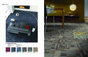 PP Commercial Carpet Tile with PVC Backing pictures & photos