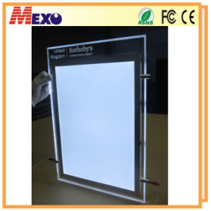 Crystal Laser Engraving Blanks A4 LED Advertising Billboard pictures & photos