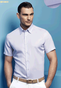 Top-Quality Men′s Cotton Short Sleeve Shirts pictures & photos