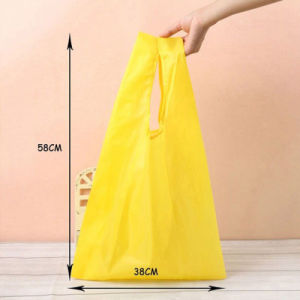 Eco-Friendly Reusable Folding Handle Polyester Bag pictures & photos