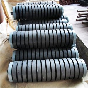 Rubber Coated Roller, Impact Roller for Conveyor Belt pictures & photos