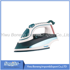 Electric Travelling Steam Iron Sf-8833 Electric Iron with Ceramic Soleplate (Blue)
