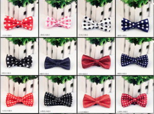 New Party Performance Polyester Silk Kids Bowties Printed Patterns pictures & photos