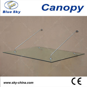 Glass Roof and Stainless Steel Door Canopy (B900) pictures & photos