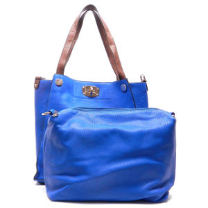 Ladies Fashion 2-in-1 Shopper Designer Tote Handbag