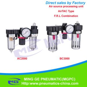 Air Filter Regulator and Lubricator Combination of Air Source Treatment Unit (F. R. L AC, BC Airtac Type) pictures & photos