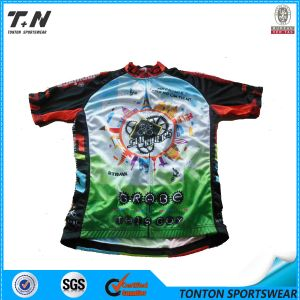 2015 Wholesale China Manufacture Custom Cycling Jersey Manufacturer pictures & photos