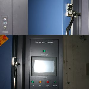 Customized Professioanl Three Zone Thermal Shock Tester pictures & photos
