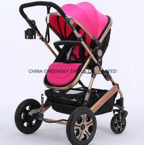 2016 Aluminium Alloy Baby Stroller Earthquake Proof En1888 pictures & photos