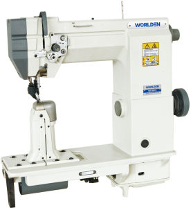 Wd-9910/9920 (worlden) Single/Double Needle Compound Feed Dost-Bed Sewing Machine pictures & photos