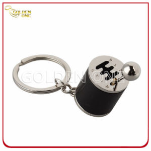 Novelty Design Gear Shift Shape Metal Key Ring for Promotion pictures & photos