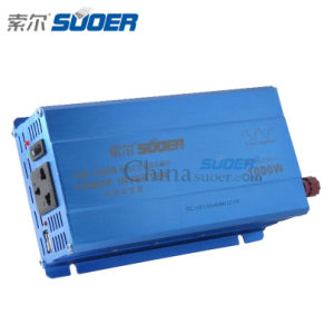 Suoer Low Price Car Power Inverter 1000W DC AC Inverter (KDB-1000B) pictures & photos