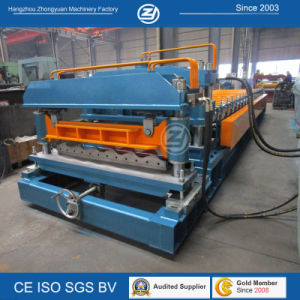 Glazed Roofing Tile Panel Cold Roll Forming Machinery with ISO pictures & photos