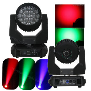 19PCS 15W RGBW 4in1 Wash Beam Zoom LED Moving Head Light pictures & photos