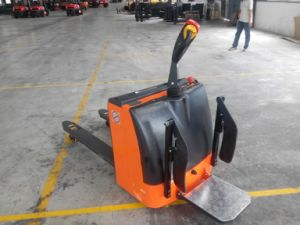 Niuli Power Pallet Truck with Various Lifting Heights in Stores and Factories pictures & photos