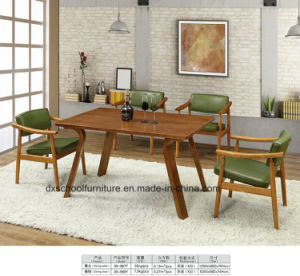 Northern Europe Solid Wood Living Room Table and Chair pictures & photos