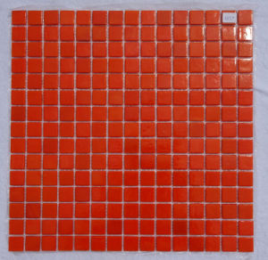Crystal Glass Mosaic Orange pictures & photos