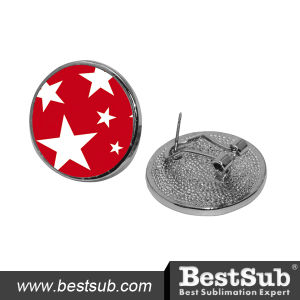 Bestsub Round Sublimation Ear Studs (EH04) pictures & photos