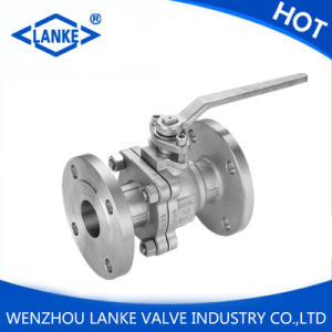 GB Pn16 Stainless Steel Float Flange Ball Valve pictures & photos