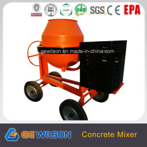 400L Portable Concrete Mixer with Diesel Motor pictures & photos