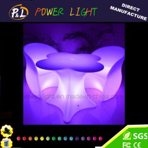 Direct Manufacture LED Light up Outdoor Furniture LED Bar Armchair pictures & photos