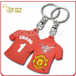 Promotional Gift Sport Offset Printing Soft PVC Keychain pictures & photos