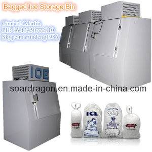 Cold Wall Bagged Ice Storage Room with 380lbs Capacity pictures & photos