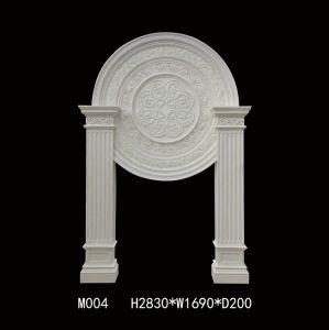 Resin Surround Fireplace Mantel Sandstone Sculpture pictures & photos