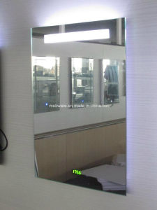 Custom Frameless LED Backlit Mirror for Five Star Hotel pictures & photos