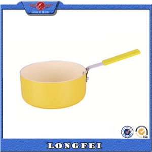 Easy and Simple to Handle Non-Stick Coating Milk Boiling Pot pictures & photos