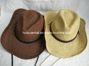 100% Paper Cowboy Hat Shapeable Brim Hat