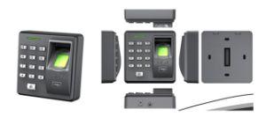 TFT LCD Biometric Fingerprint Face Recognition Time Attendance pictures & photos