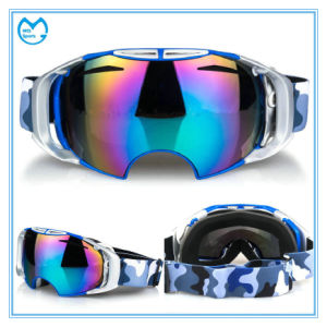 Adult Fashionable Anti-Fog Safety Glasses Ski Snow Goggles pictures & photos