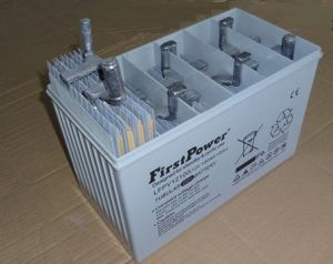 Tublar Plate Gel Storage Battery (LFPV12100) pictures & photos