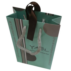 Colour Printed Paper Shopping Bag pictures & photos