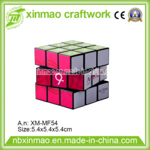 6.4cm Puzzle Cube with Full Color Logo for Promo Items. pictures & photos