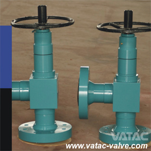 API 6A Wellhead Manual Adjustable Angle Choke Valve for Oilfield pictures & photos